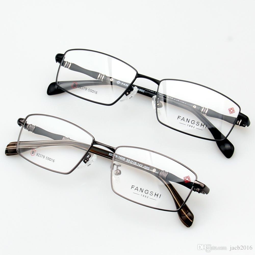 5525e75753b 2019 Men Glasses Eyewear Eyeglasses Women Rectangle Fullrim Frame Alloyed  Titanium Spectacles Optical RX Lens From Jacb2016