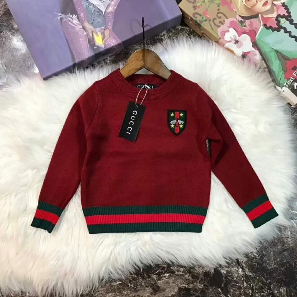 aa8ff7f843fc Girls Sweaters For New Pattern Children s Garment With Fund Face ...