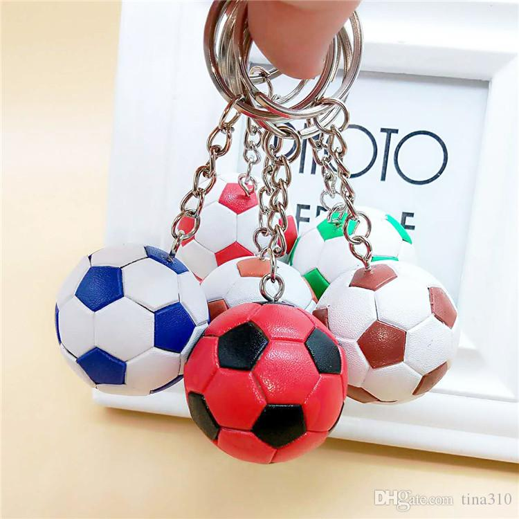 adeaf2ea34b Hot sale football key ring bag pendant accessories world cup fans souvenir  gift Key chain arts and crafts T3I0203