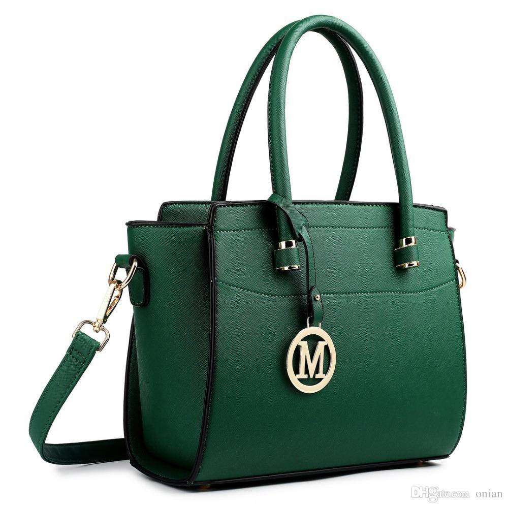 7e9274fb722a Wholesale Buy 1 Get 1 At 50% Off Miss Lulu Women Leather Handbags Top  Handle Bags Shoulder Bags Cross Body Bags For Girls Tote 2017 LT1625  Satchel Handbags ...