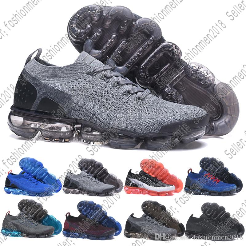 check out 34257 b1f53 Compre Nike Air Max Vapormax Discont Brand Half Size Vapormx Rainbow Bhm  Ser Verdadero 2018 New Gold White Red Pink Mujeres Hombres Hombres  Zapatillas De ...