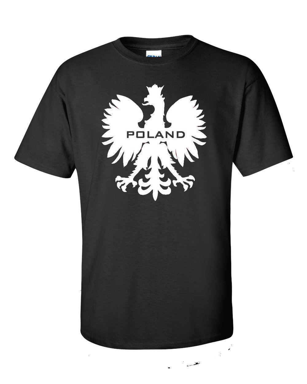 38512d5c Best T Shirts Graphic O Neck Polska Polish Eagle Patriotic Logo Poland T  Shirt Red And Black. Short Sleeve Mens T Shirts Crazy Design Shirts Best  Tee Shirt ...