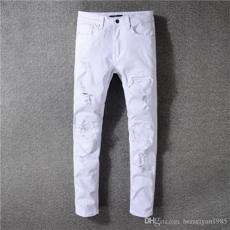 94d1201826b 2018 мужские ультра-легкие тонкие модные брендовые джинсы Большие продажи  весенне-летних джинсовых модных тонких джинсов мужские брюки 543