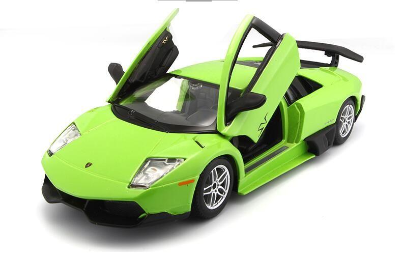 2019 Lamborghini Car Model 1 24 Simulation Collection Alloy Sports