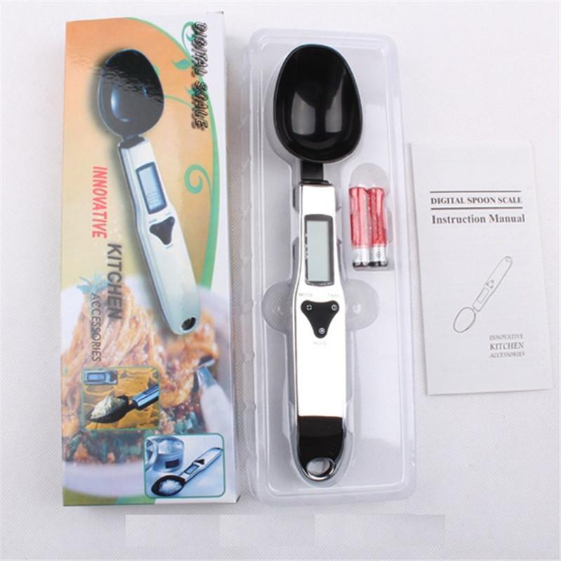 500 جرام / 0.1 جرام الرقمية مطبخ مقياس الالكترونية وزن مقياس مقياس غرام lcd عالية الجودة الرقمية ملعقة مقياس أدوات المطبخ c534