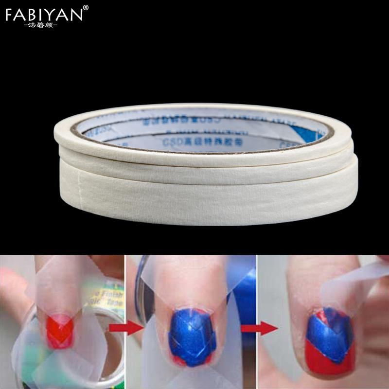 3 Size Nail Art Roll Decoration Adhesive Tape Wrap Edge Guide ...