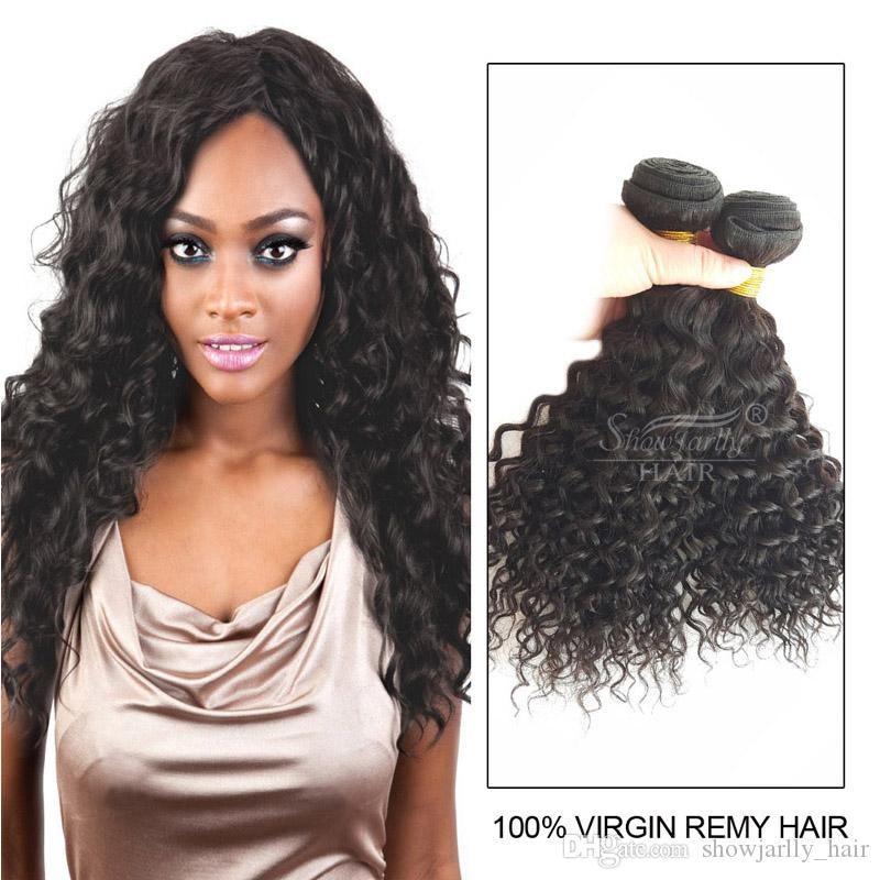 Cheap Affordable Brazilian Water Wave Virgin Hair 3 Bundles Grade 8A Nature  Color 100% Unprocessed Remy Human Hair Weave Weft 14 16 18 Remy Hair  Extensions ... 6e10f6ba763c
