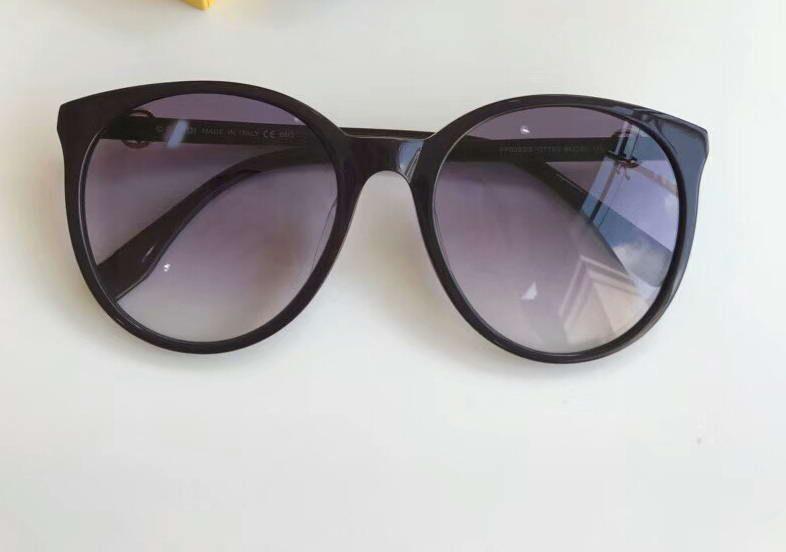 Mujeres Hombres polly / S Rose Gold Gafas de sol ojo de gato Gafas de sol de marca de diseñador de moda Nuevo con estuche NUM2018FF6