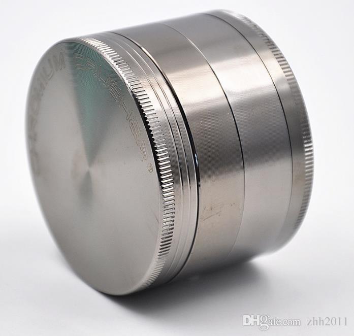 Aleación de zinc 4 capas de metal triturador triturador de humo 63 mm