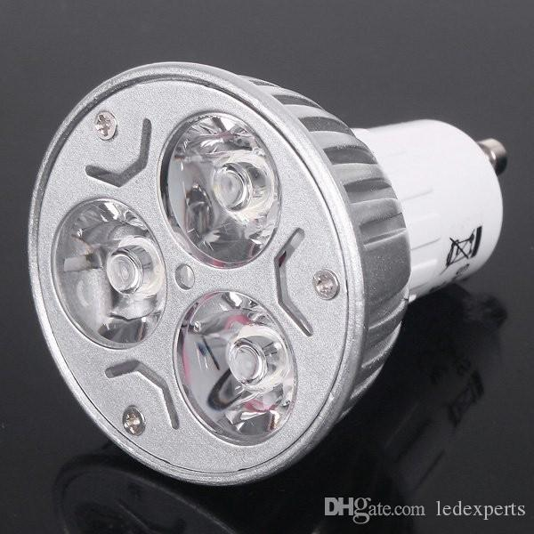 X500 9W Dimmable LED Bulb 12W 15W Bulb Lights GU10/MR16/E27/E14/B22 LED Spotlights CREE Lights 3x3W Energy-saving Led Lighting Bulbs