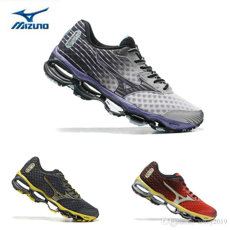 2018 Arrive Authentic MIZUNO WAVE PROPHECY 4 Men Designer Sports Running Shoes Sneakers Mizunos 4s Casual Mens Trainers Size 40 45