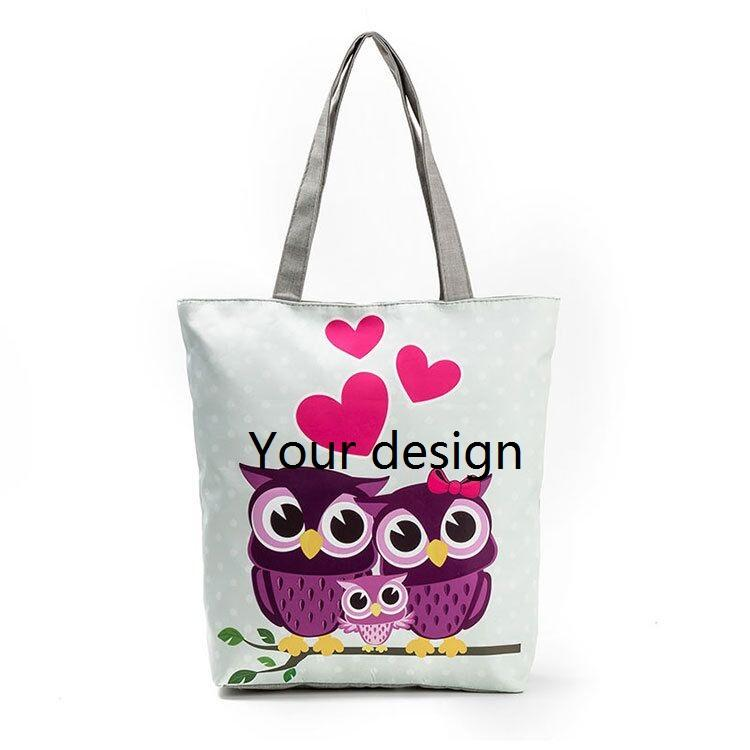 c5e244faa075 Wholesale Custom Folding Shopping Tote Reusable Superior Quality Canvas Bag  Shopping Bag With Your Logo Printed Wholesale Purses Cloth Bags From  Teaberry