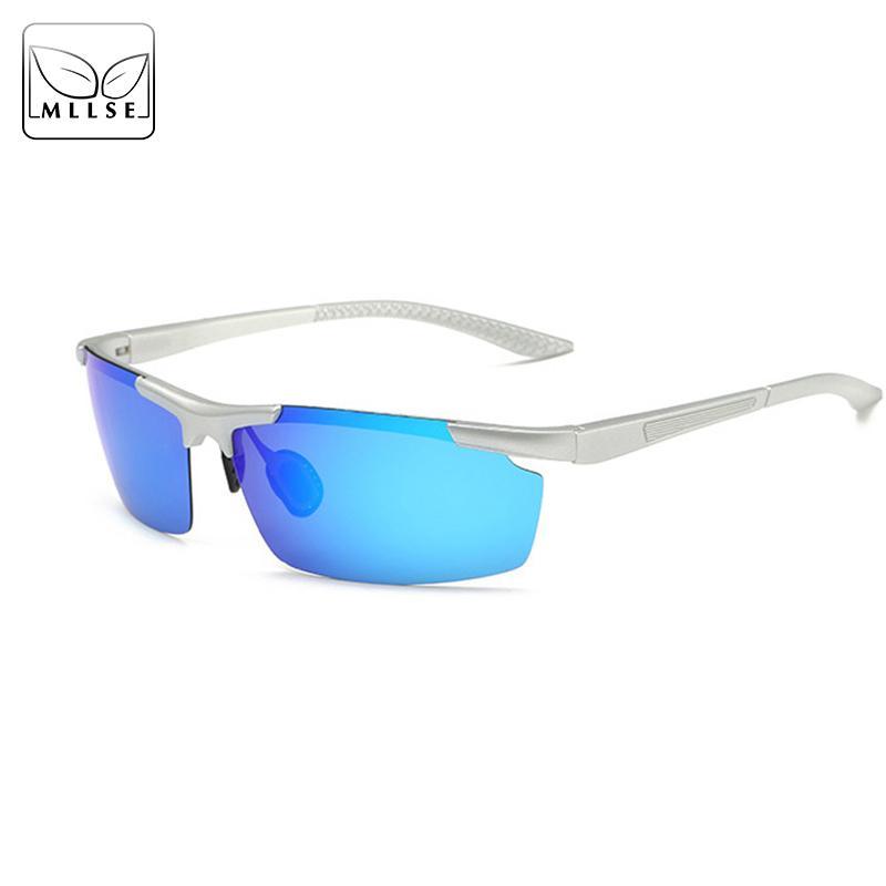 0e1339099e MLLSE HD Polarized Sunglasses for Men Brand Designer Ultralight ...