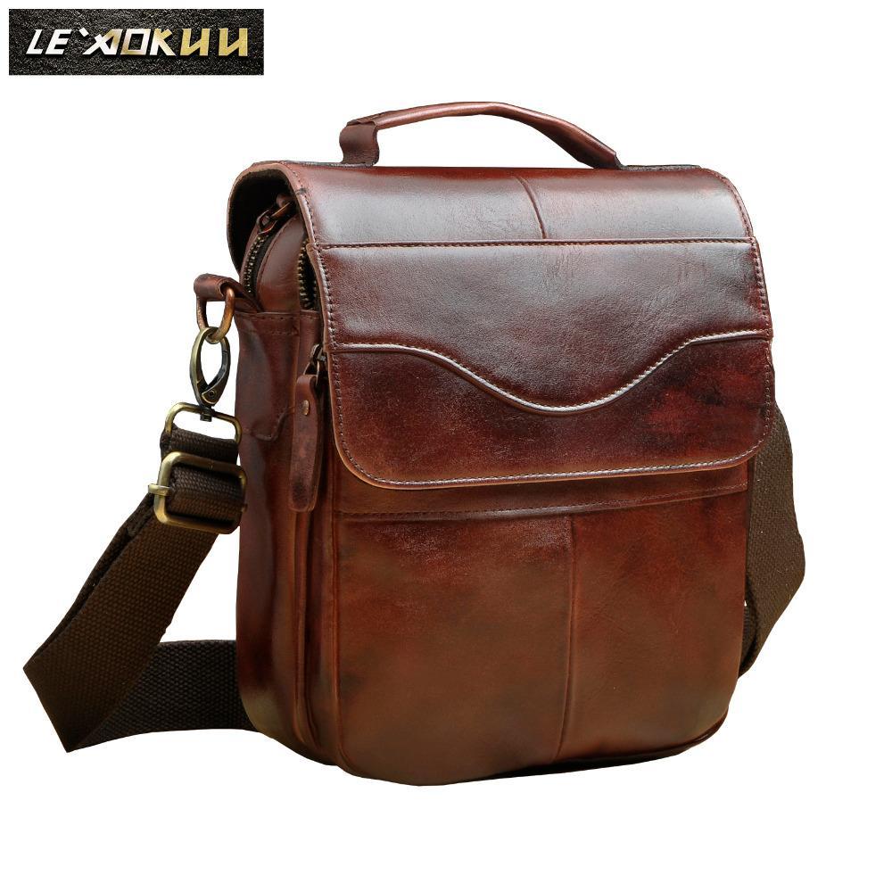 345a9c7d050b51 Quality Leather Male Fashion Casual Tote Messenger Bag Design Travel  Satchel Crossbody Shoulder Bag 8 Tablet Case For Men 144w Handbag Sale  Handbag Brands ...