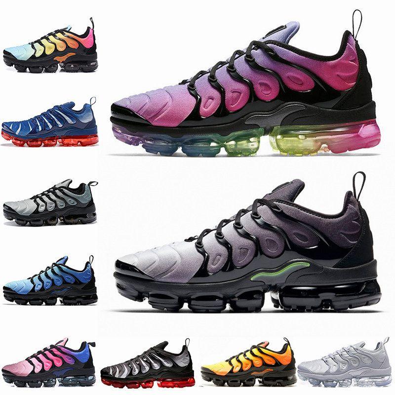 60cb66c15a008 2018 TN Plus Mens Running Shoes BE TRUE Cargo Khaki Zebra Red Shark Tooth  Triple Black White Designer Sport Sneakers 40-45 Tn Tn Plus Mens Running  Shoes ...