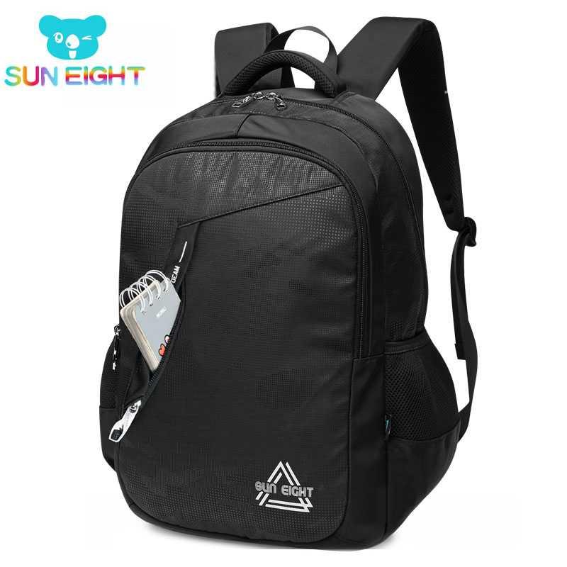 c9d07a805d5b SUN EIGHT Big Capacity 18.5inch Men Backpacks School Bag For Teenage Boy  University College Travel Bags Pack Rucksack Rucksack Jansport Backpacks  From ...