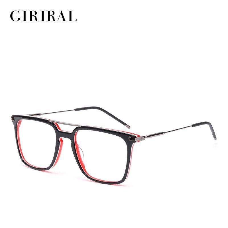 2018 Acetate Men Eyewear Frames Prescription Designer Myopia Optical ...