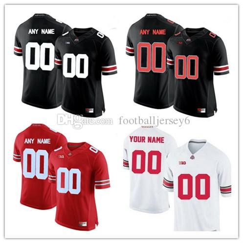 22fa0a6b833 2019 Custom Ohio State Buckeyes Mens Women Youth Kids College Football  Jerseys Limited White Red Black Personalized Stitched Any Name Number From  ...