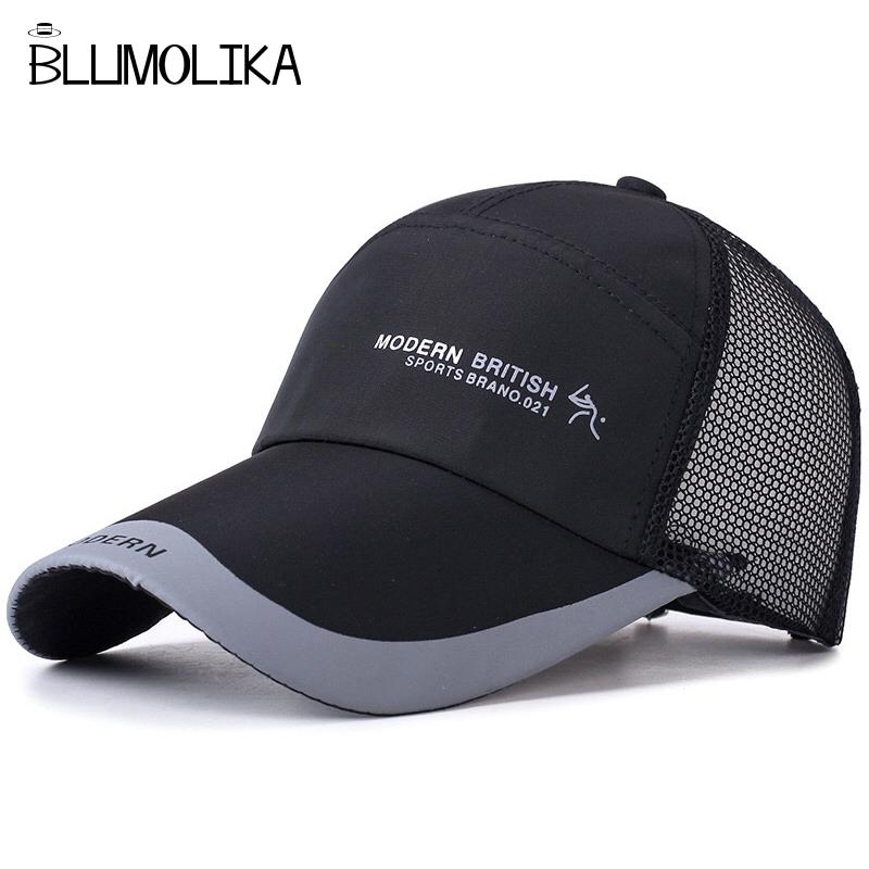 Summer Baseball Mesh Cap Men Golf Hat Breathable Spring Cotton Hat For  Women Adjusatble Messy Baseball Hats Snapback Wholesale Mens Caps La Cap  From ... 646e7822a6c