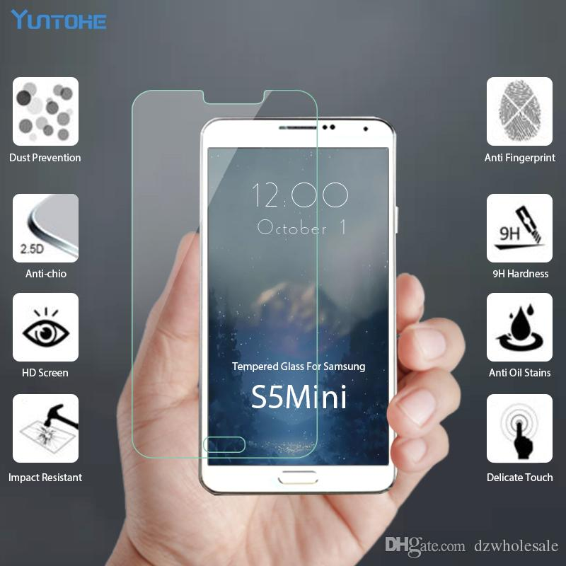 Screen Protector For Samsung Galaxy S3Mini S4 S4 Mini Glass Tempered Glass For Samsung Galaxy S5 S5 Mini Phone Film For Samsung S6 G9200