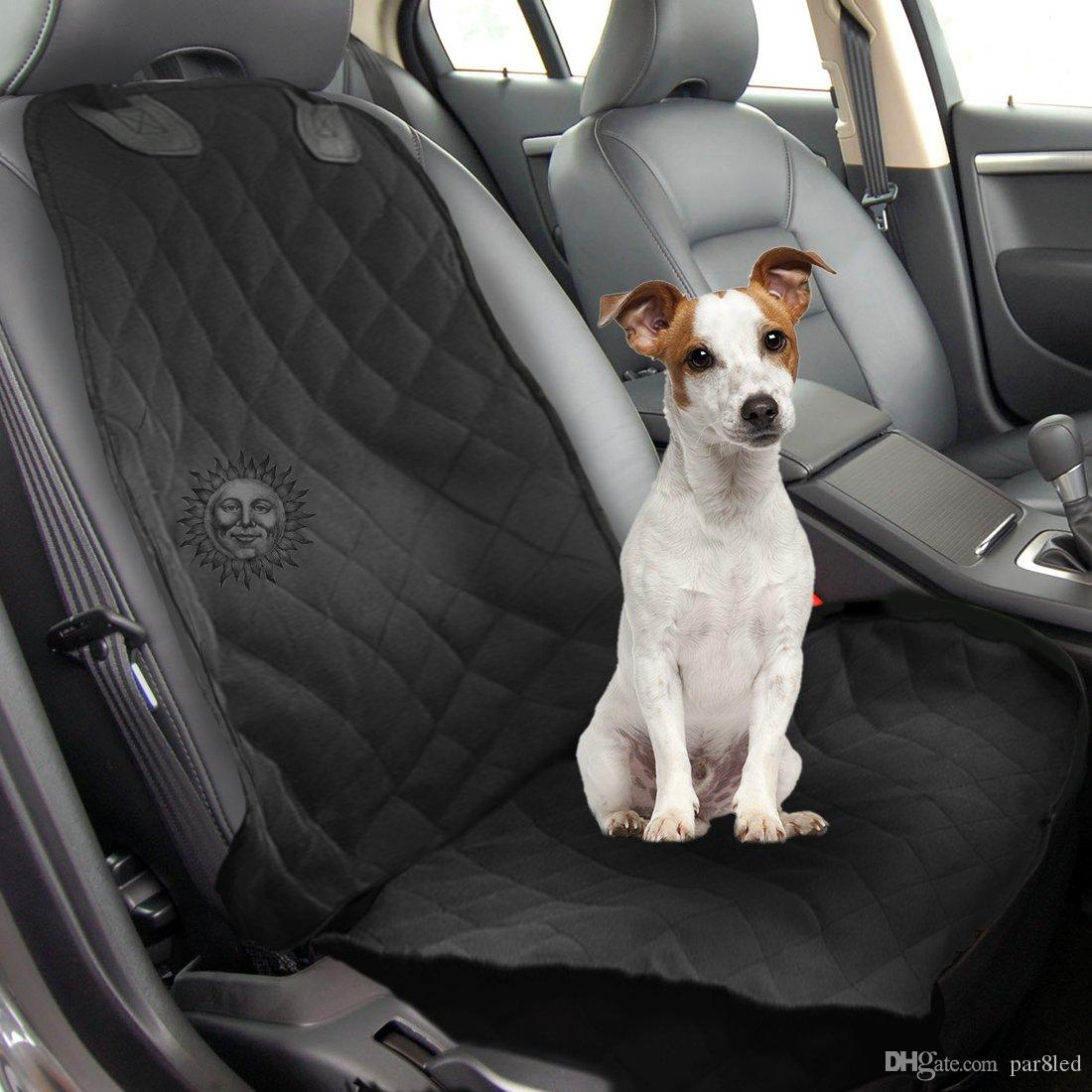 Dog Front Seat Car Cover By SunGrow Waterproof Non Slip Back Vehicle Protection From Falling Hair Soiling Mud Sand Sweat Infant Baby
