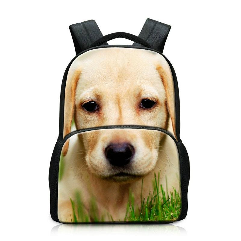 451ac8560674 Personalized Big Boys School Backpack Teen Girls School Bag With Laptop  Holder Bagpack Large Space Travel Rucksack Hiking Camping Dog Print  Backpacks For ...