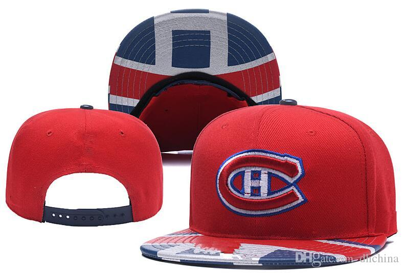21d973d6a5c 2019 New Caps Montreal Canadiens Hockey Snapback Hats Red And Blue ...