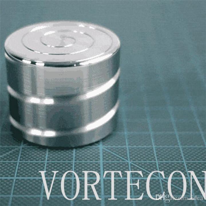 Nueva Vortecon Mesa de escritorio cinética Juguete Gyro Rotación giratoria de escritorio Hipnosis Dedo Gyro Palm Descompresión para adultos Juguete directo de fábrica