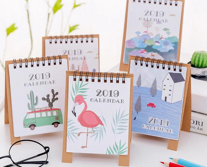 Cute Desk Calendar Ways To Organize A Desk