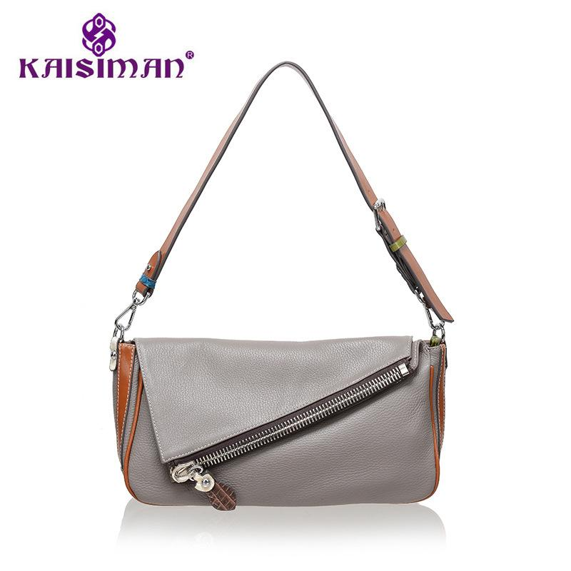 Luxury Handbags Women S Bags Designer Genuine Leather Bag Female Design  Trapeze Shoulder Bags Women Cow Leather Casual Tote Bag Leather Products  Brown ... 526cee2f1b23a