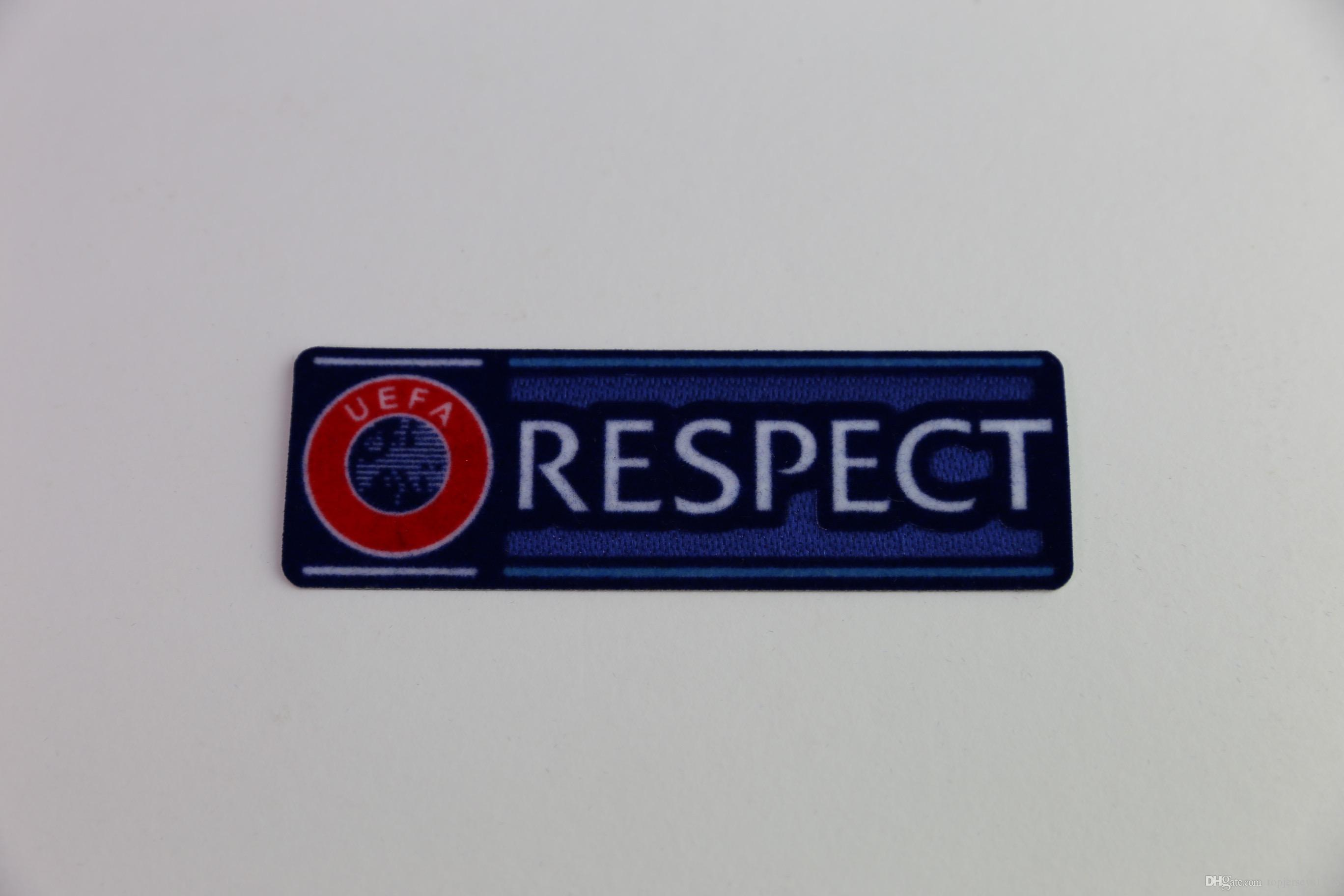 3ed6c8438c a RESPECT Patch 2015-2017 Soccer Badge Cashmere Material Velvet Soccer  Patch Epl Patch Soccer Patch Badge Online with  1.15 Piece on  Topjerseys1718 s Store ...
