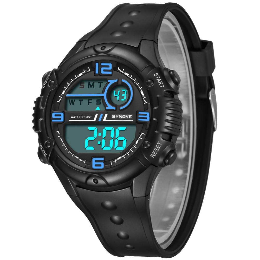 ced9cf661794 Compre SYNOKE Multi Function 50M Reloj Impermeable LED Digital Reloj De Acción  Doble Hombre Reloj Hombre Reloj Masculino Hombres Relojes Deportivos Hombre  A ...