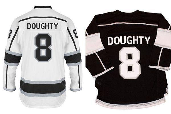 best sneakers ca071 94dcb 2016 Cheap Los Angeles Kings Youth Doughty Jerseys Kids #8 Drew Doughty  Jersey LA Kings Home Away Black White Stitched Hockey Jerseys