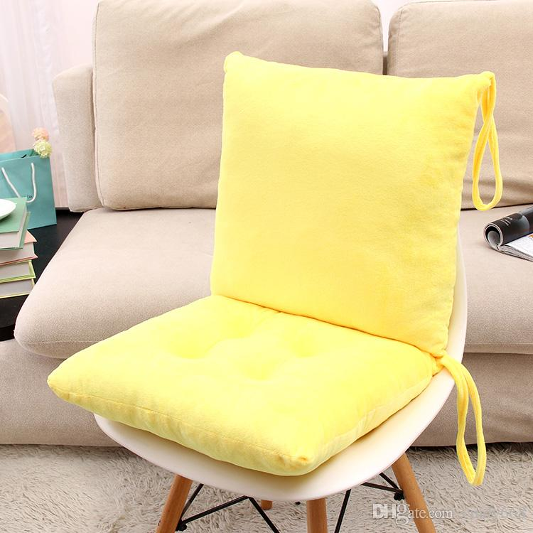 Solid Chair Cushion Conjoined Coussin Thickening Car Board Pad Non Slip  Chair Pillow High Quality Cojines Decoratie Almofada Pad Fall Outdoor  Pillows ...