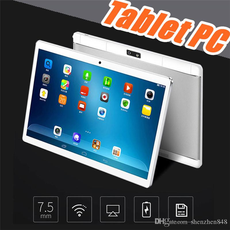 "10"" inch MTK6582 Octa Core 1.5Ghz Android 6.0 3G Phone Call tablet pc GPS bluetooth Wifi Dual Camera 4GB RAM 64GB ROM G-10PB"