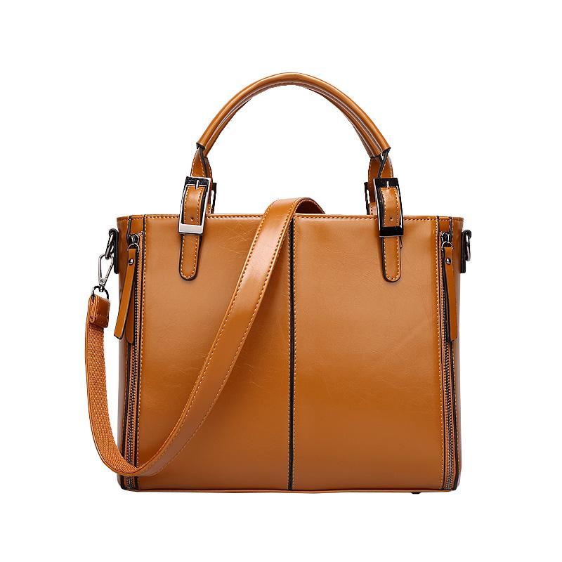 689e772a6c62 2018 New Fashion Women Leather Handbags Women Handbag British Style  Shoulder Bag Crossbody Messenger Bags Tote Big Bag Cheap Bags Cheap  Designer Bags From ...