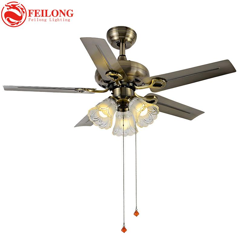 Iron Brown Blades Super Cool Ceiling Fan Light 4201 Blz Indoor With Kit Fans Lights