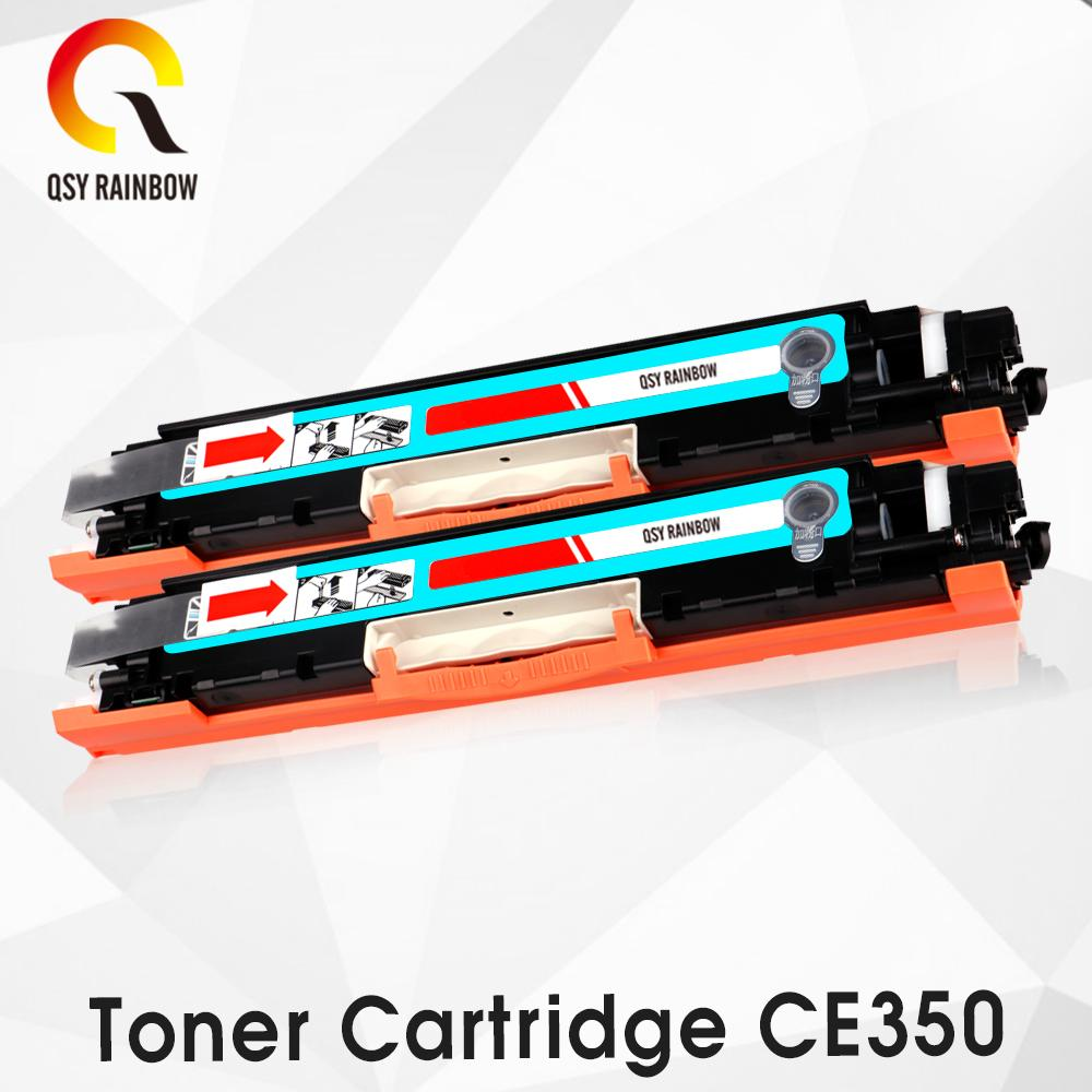 7da40836acdb 2019 2pk CF351A Refillable Cyan Toner Cartridge For Color LaserJet Pro MFP  M176n, M176 M177fw M177 Printer With Chip From Madai, $48.8 | DHgate.Com