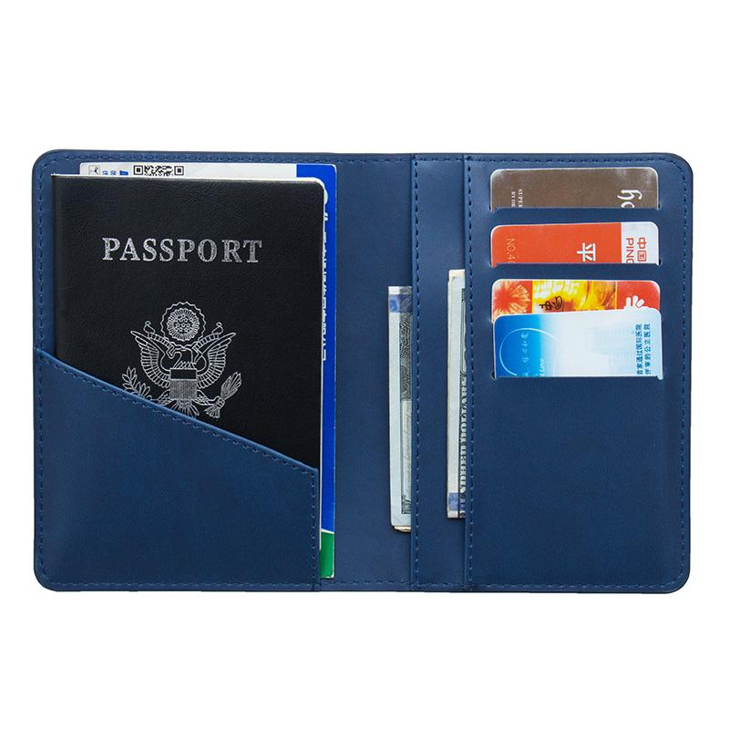 Back To Search Resultsluggage & Bags Usa Double-headed Eagle Convenient Pink Pu Leather Passport Holder Built In Rfid Blocking Protect Personal Information Clients First