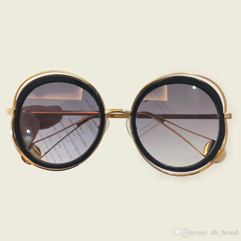 b55cfbe76a7 2018 Fashionable Steampunk Sunglasses Polarized Men Women Luxury ...
