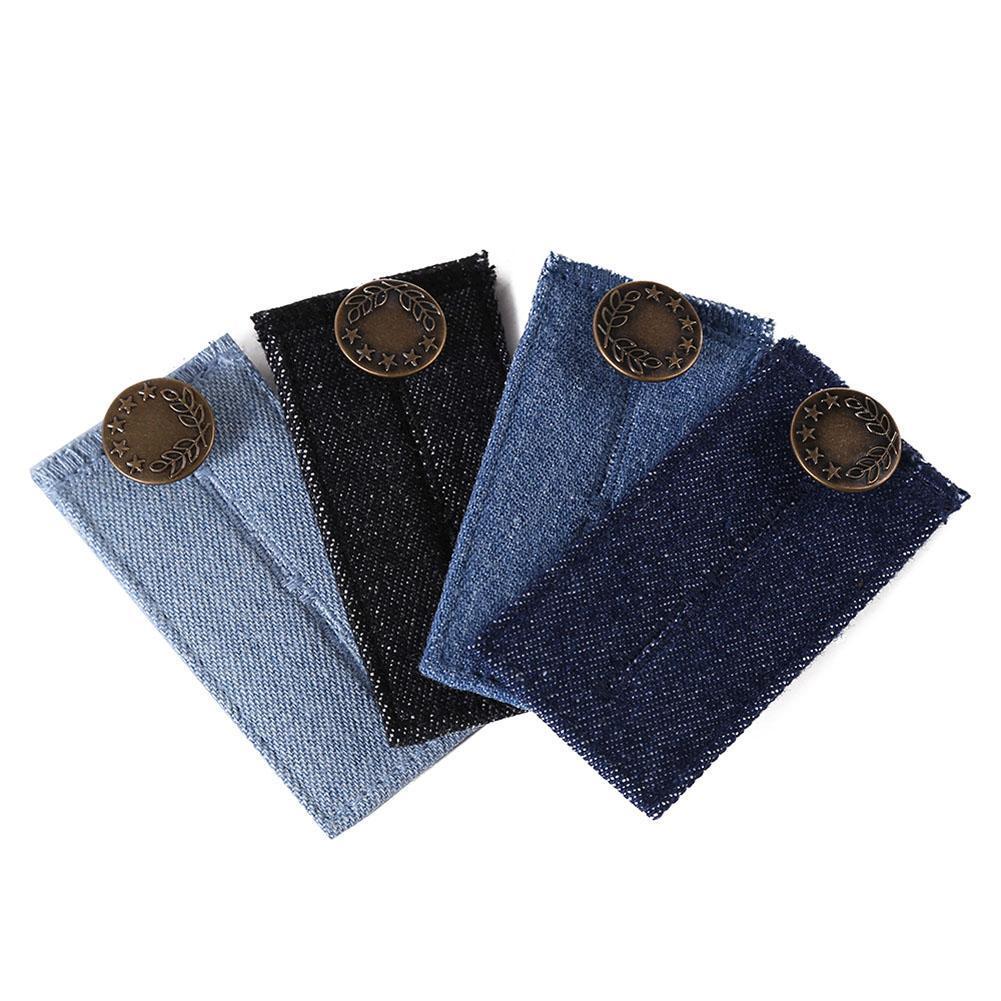 e304002a9 Compre 1 UNID Pantalones Extender Jeans Denim Cintura Extender Mujer Embarazada  Ropa Accesorios Para El Vestido De Maternidad Ropa A  20.79 Del Mangosteeni  ...