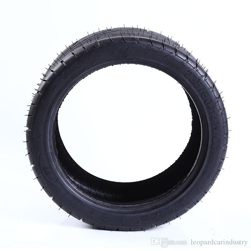 New 235/30-14 Locomotive tire Flat tire modification Four-wheeled vehicle Inverted three-wheel Inner tube ATV Vacuum tire Mountain Off-road