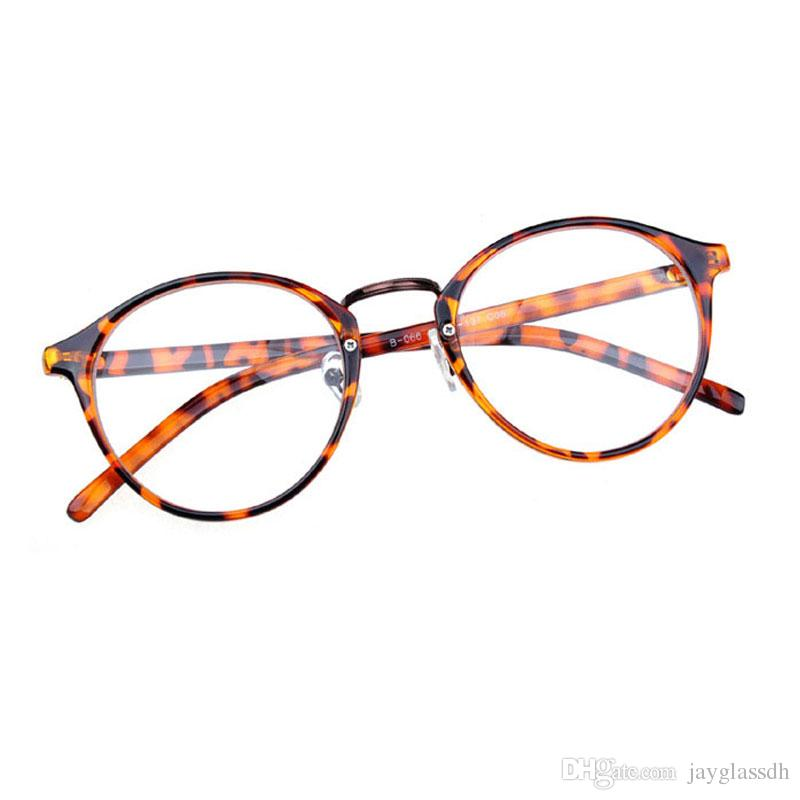 0549a3233f1 Clear Lens Round Glasses Frame Cute Women Fashion Oversized Spectacle  Frames Transparent Optical Eyeglasses Clear Eyeglasses Eyewear Heart  Sunglasses Circle ...