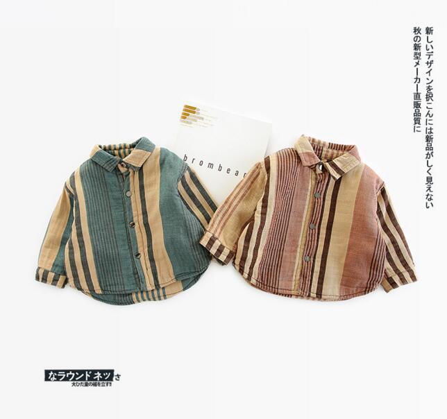 af9ff74a978e INS Kids Clothing Boy Girl T Shirt Coat Fall Winter Cashmere Long ...