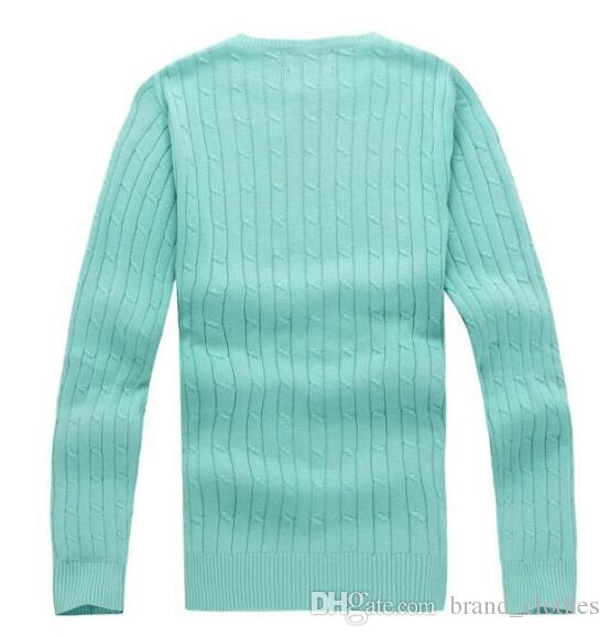 2018 new high quality mile wile polo brand men's twist sweater knit cotton sweater jumper pullover sweater men