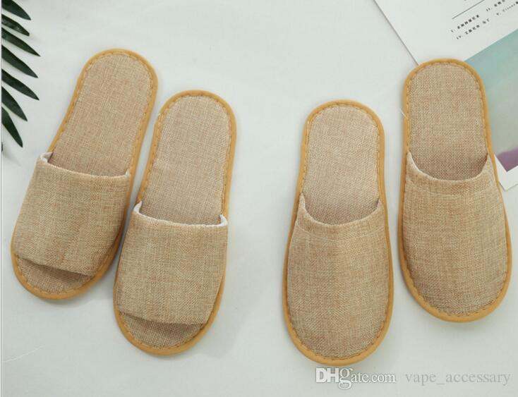 Theme hotel disposable linen lshoes supplies color EVA high quality  antiskid breathable slippers home hospitality manufacturers direct sell