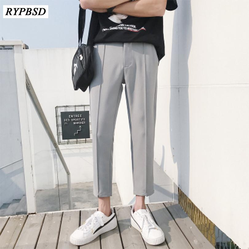 2019 2019 New Japanese Men S Cotton Casual Harem Pants Fashion Trend