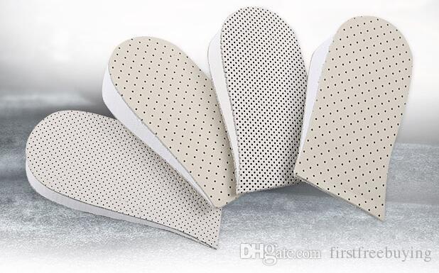 Uomo Donna Silicone Gel Heel Cushion Solette Suole Alleviare il dolore Pain Protector Spur Support Shoe Pad inserti a tacco alto
