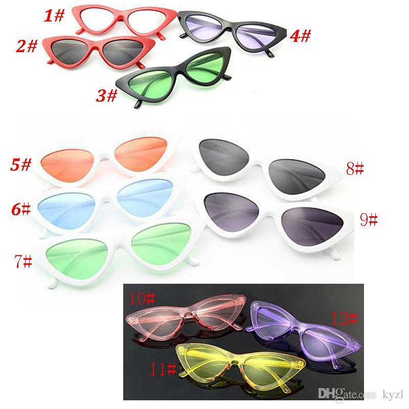 748569b334 Sumer Glasses Clout Goggles Cat Eye Sunglasses Vintage Mod Style Retro Kurt  Cobain Sun Glasses Canada 2019 From Kyzl