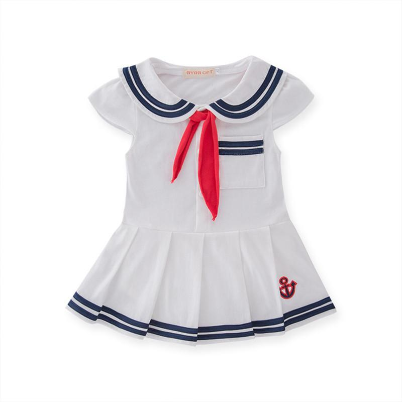 Baby Girl Dresses Newborn Coon Dress Summer Coon Baby Rompers For Girls  Navy Sailor Dress S Jumpsuit Baby Clothing Hat UK 2019 From Henryk b4ffbad71d7